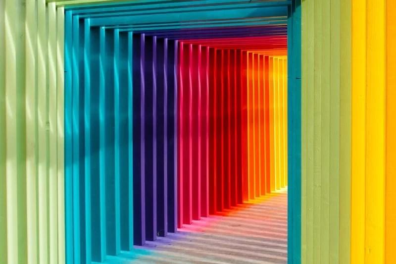 Arcobaleno e colori
