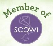 Membership badge-Society of Children's Bookwriters and Illustrators