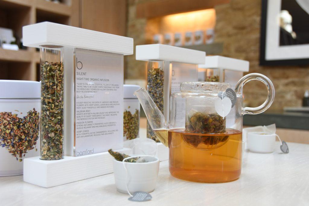 Teas for well-being: Bamford's new organic infusions | Carole Bamford