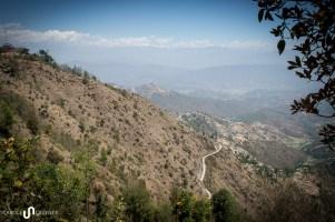 Auf diesen Hügel nahe Dhulikhel kam Sundar nachdem ihn seine Frau verlassen hat: «Ich habe einen ganzen Tag geweint».