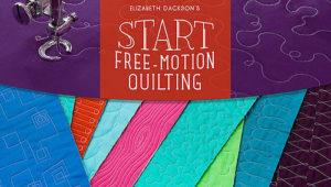 Freemotion quilting Dackson