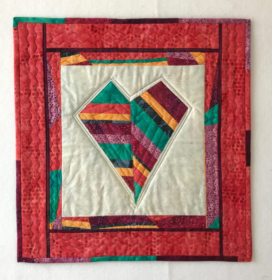 Island Batik Mini Quilt Tutorial