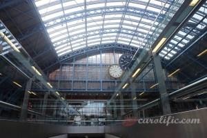Travel, London, Europe, St Pancras Station, Paris to London, Train, Paris to London by Train, United Kingdom, UK