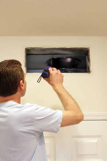 Air Duct Inspection Greenville SC  Mold Growth in HVAC