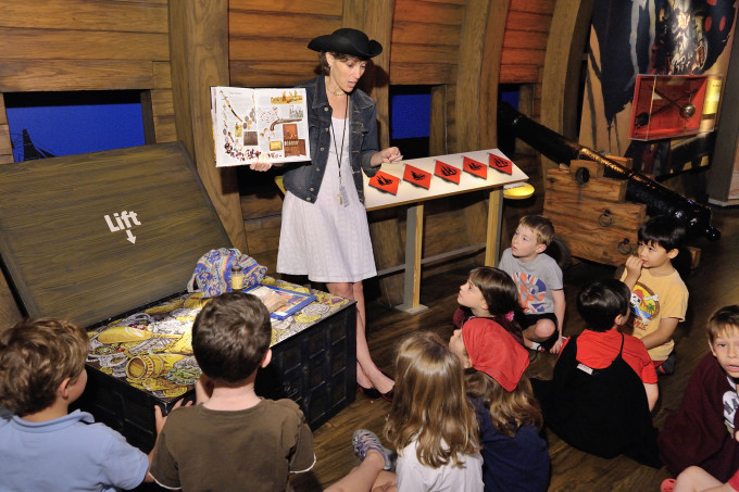 2013 Summer Camp - Pirates, Ships, and Lighthouses - NC Museum of History