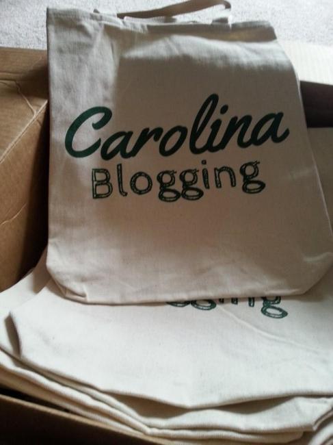 Carolina Blogging Swag Bags