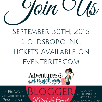 Blogger Meet & Greet – September 30th, 2016