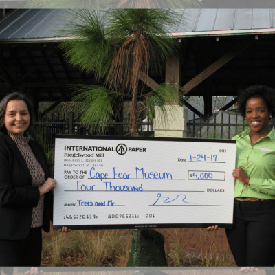 Museum Awarded International Paper Grant - Cape Fear Museum