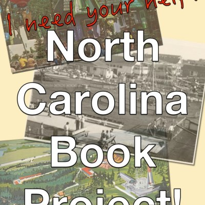 North Carolina Book Announcement!