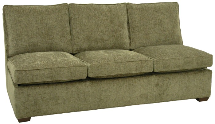 crawford sectional armless queen