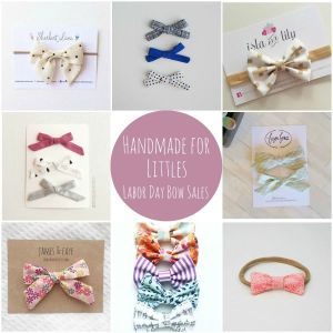 Handmade for Littles: Labor Day Sales