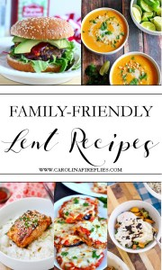 Family-Friendly Lent Recipes