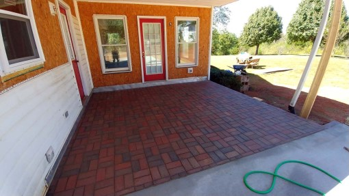 Red Brick Patio