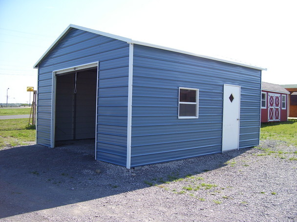 Metal Garages Steel Oklahoma OK