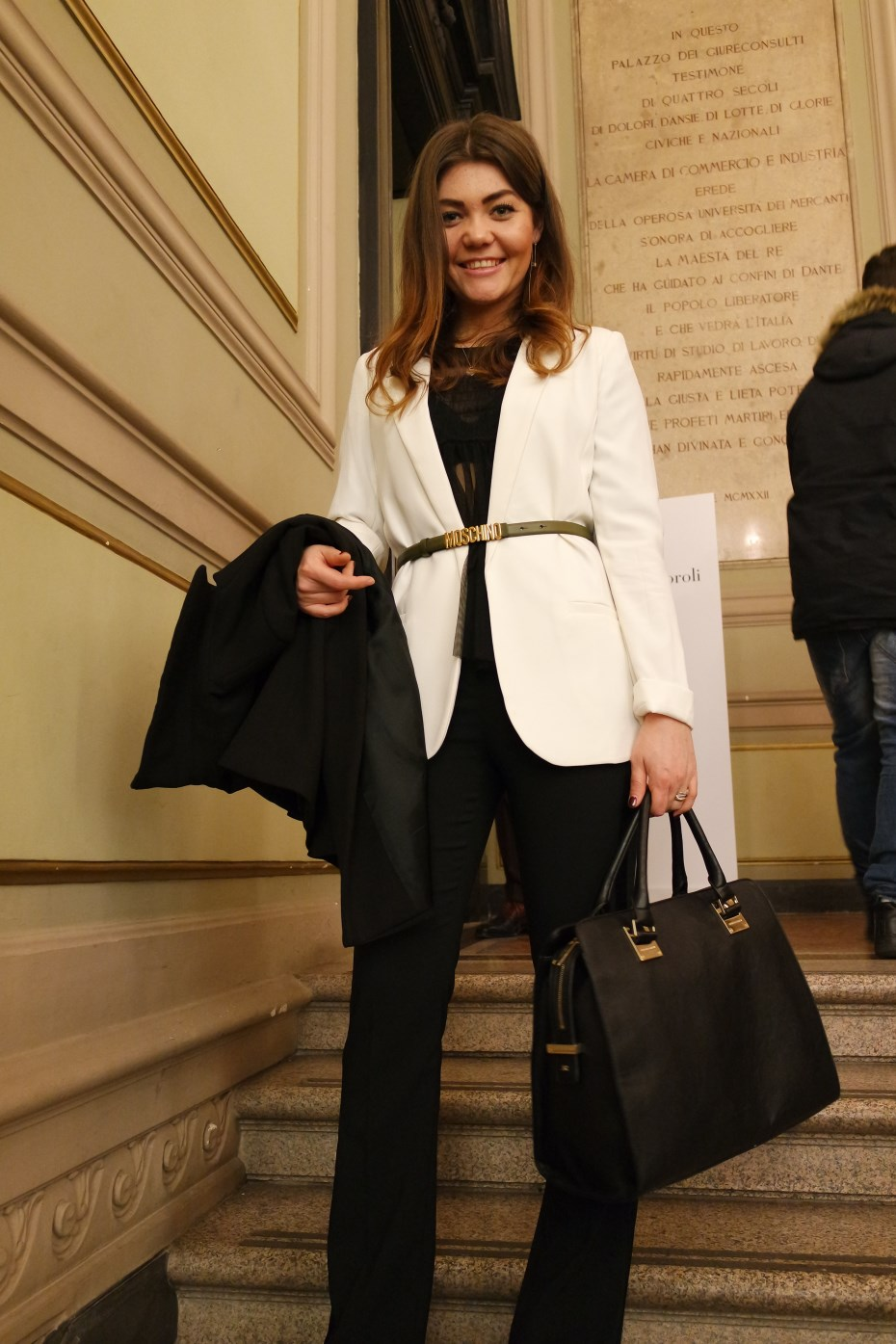 The smart dressing - outfit giacca bianca