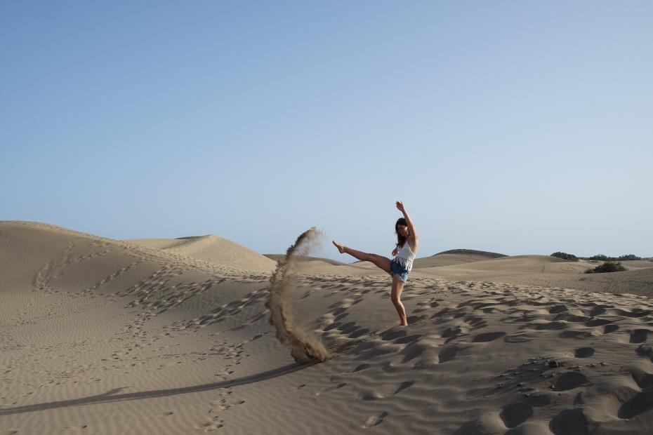 Foto artistiche deserto