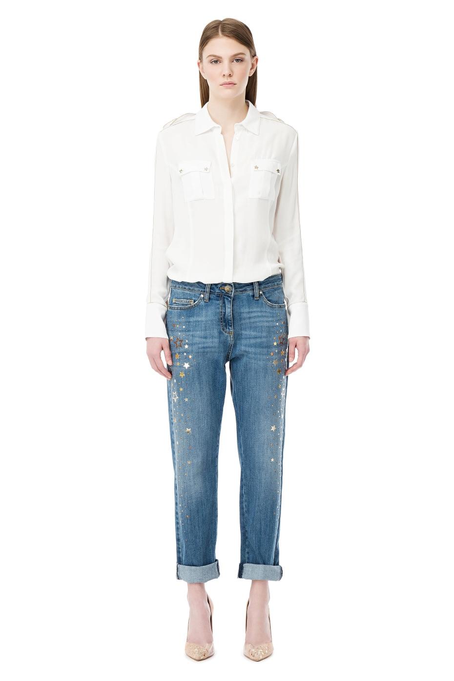 Jeans con stelle