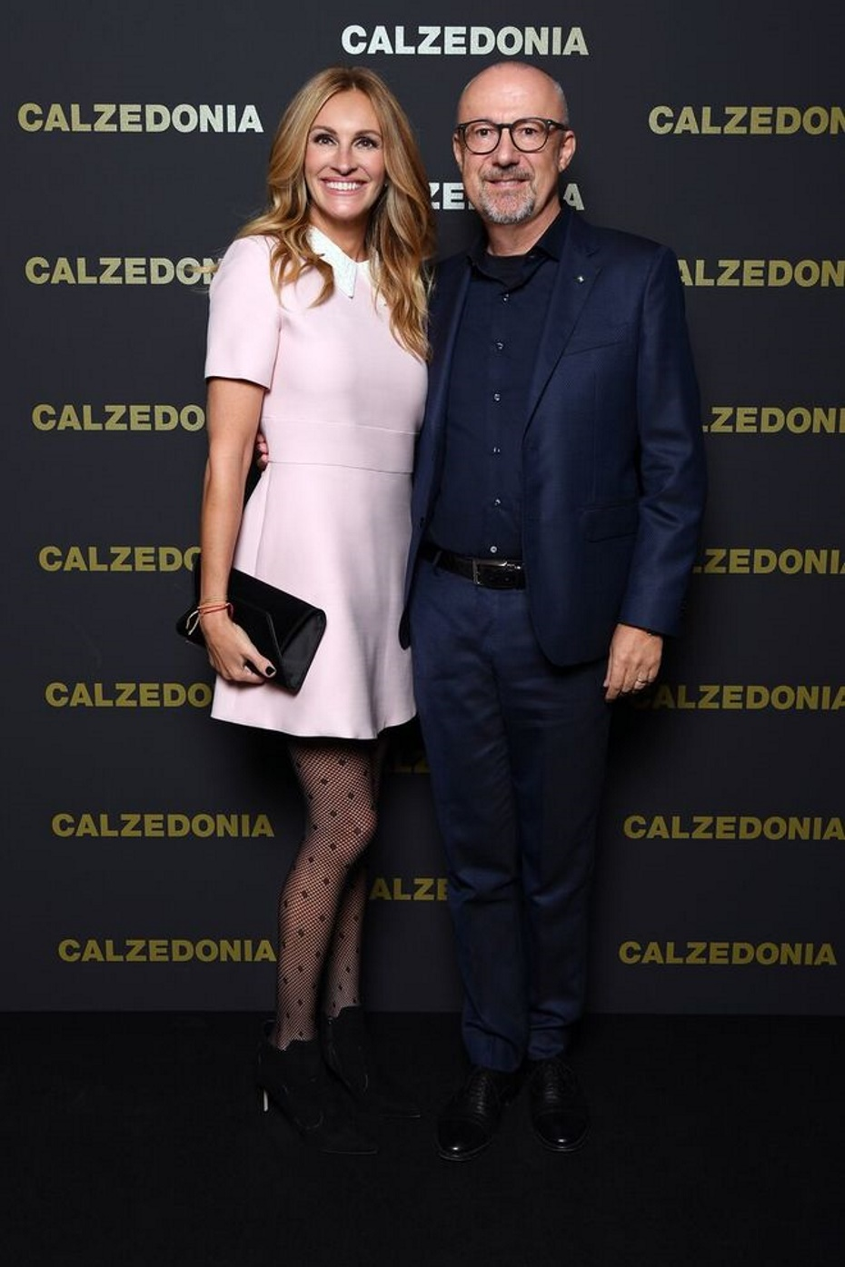 Julia Roberts Calzedonia Leg Show 2017