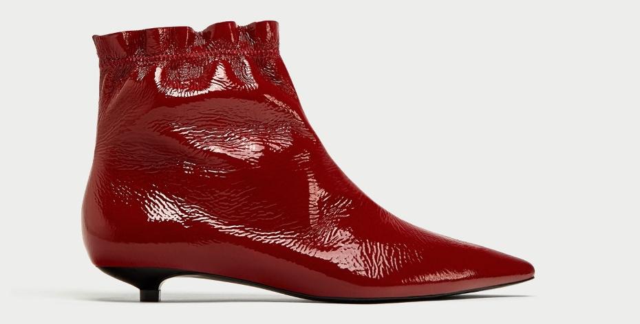 Le scarpe di tendenza per l autunno inverno 2017-18 · Stivaletti rossi a  punta 5222ea861ae
