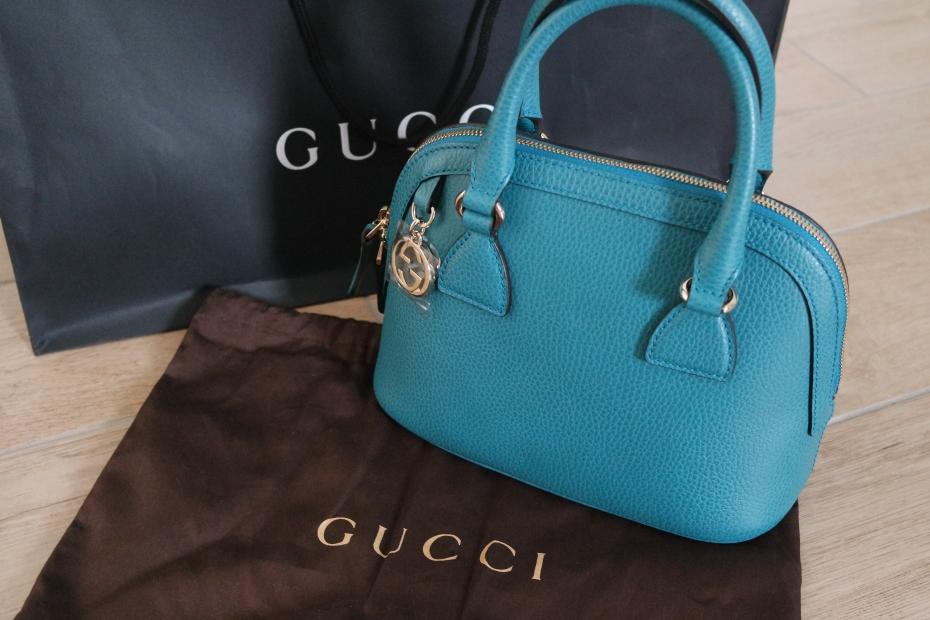 Borsa Gucci mini smeraldo
