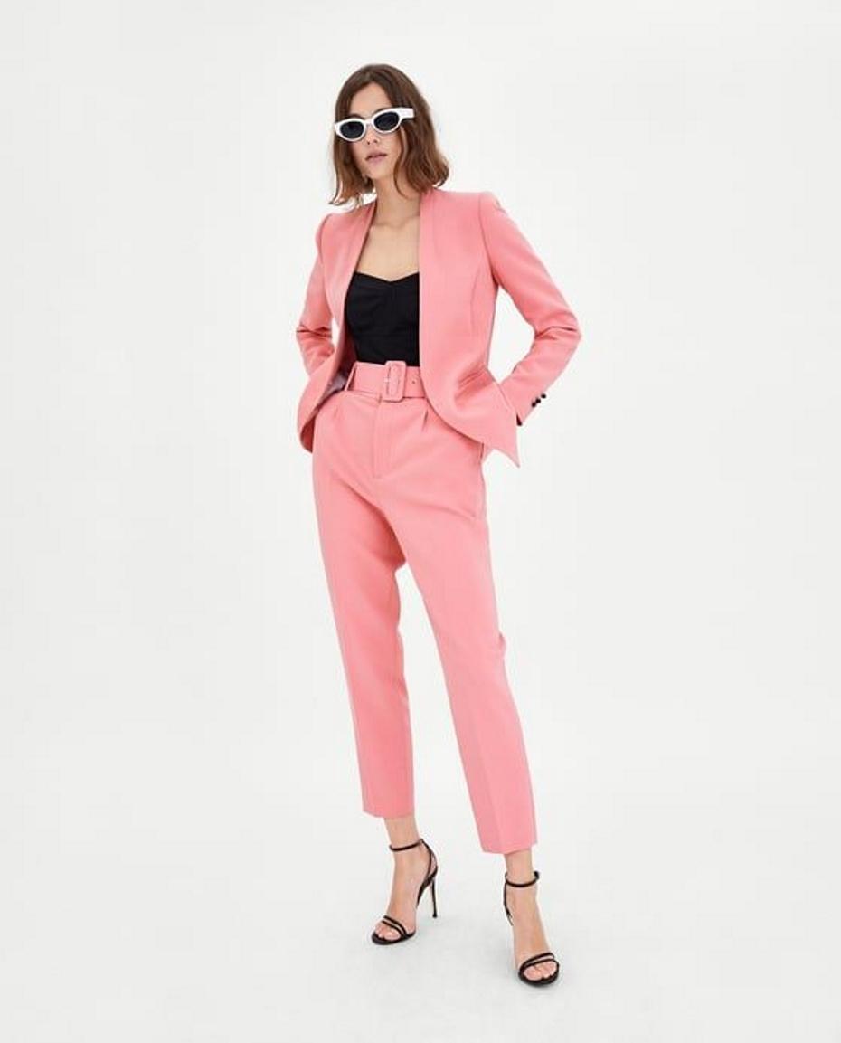 Completo rosa Zara