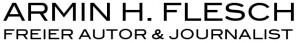 Logo Armin H. Flesch freier Autor und Journalist