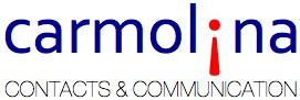 Logo Carmolina contacts and communication