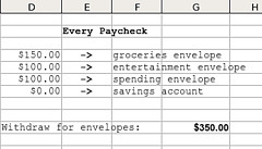 Every Paycheck Excel Spreadsheet