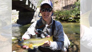 Brown trout -- kings of the trout world