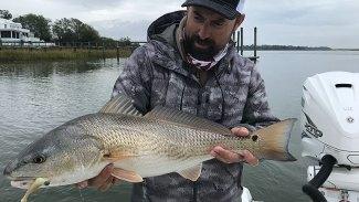McClellanville, S.C., is a winter redfish hot spot