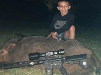 hog hunting for kids