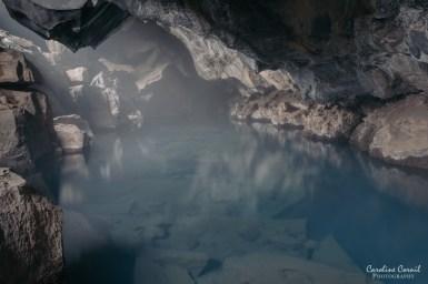 Iceland Grjotagja cave