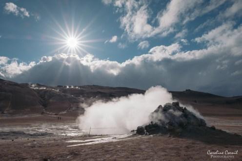 Iceland Hverir geothermal area