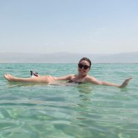 Floating the Dead Sea