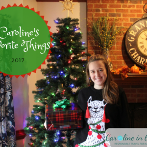 Caroline's Favorite Things 2017