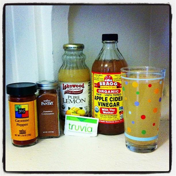 apple cider vinegar detox recipe