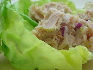 Tuna Salad in Lettuce Cups