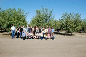 Visiting the California Almond Orchards
