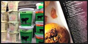 Lunch Date #7: Apple Crisp Muffins & Yoga for Desk-Sitters