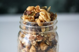 Raw Peanut Butter Cookie Trail Mix