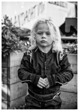 Wayne Severijn, jonge karter in Ulrum