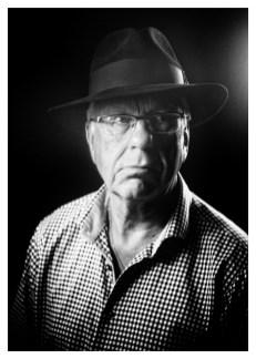 Gerhard ter Beek: 'Toen ik een eerste date had met een leuke vrouw droeg ik deze hoed. Ze had me al van afstand in het restaurant zien zitten, met de hoed voor mij op het tafeltje. Ze dacht: oh nee, niet een man met een hoed… Ze is toch gebleven, ondanks de hoed ;-).'