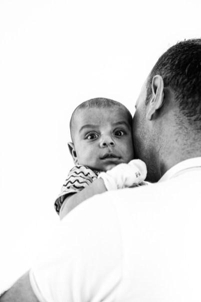 Imad en zijn jongste zoon