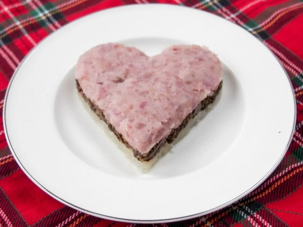 """A simplified haggis – """"my heart's in the Highlands"""""""