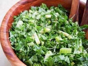 super green kale salad