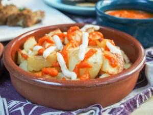 healthier patatas bravas