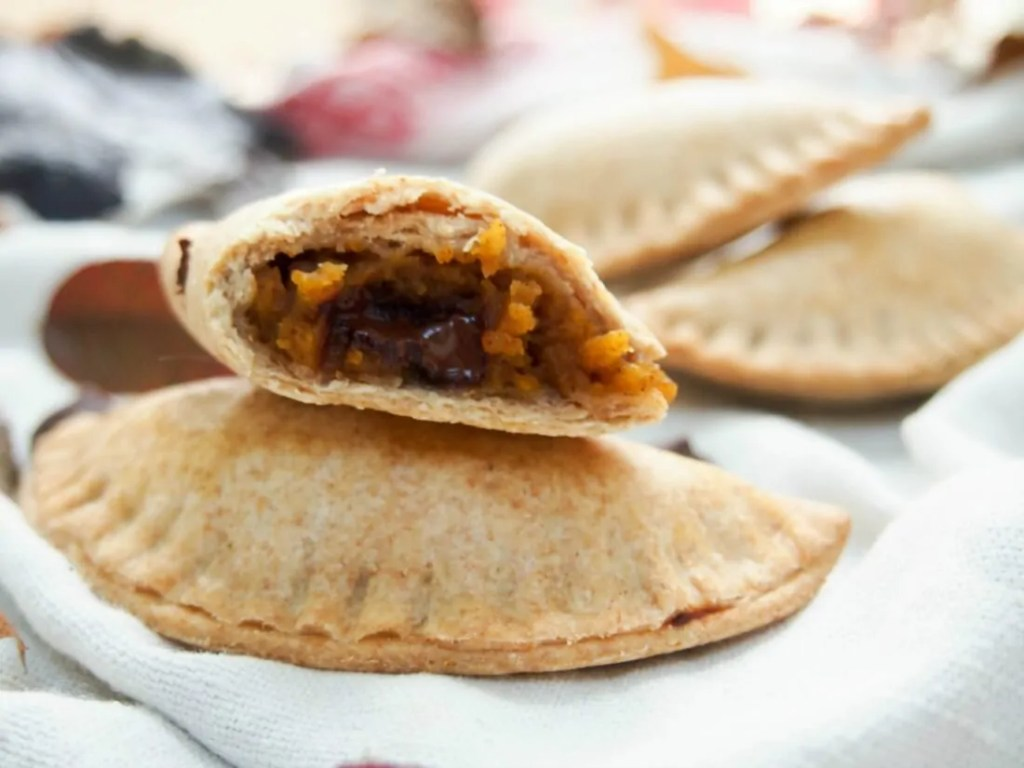 Chocolate chip and pumpkin empanadas #pumpkinweek