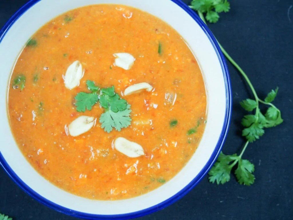 West African peanut soup #FoodieExtravaganza