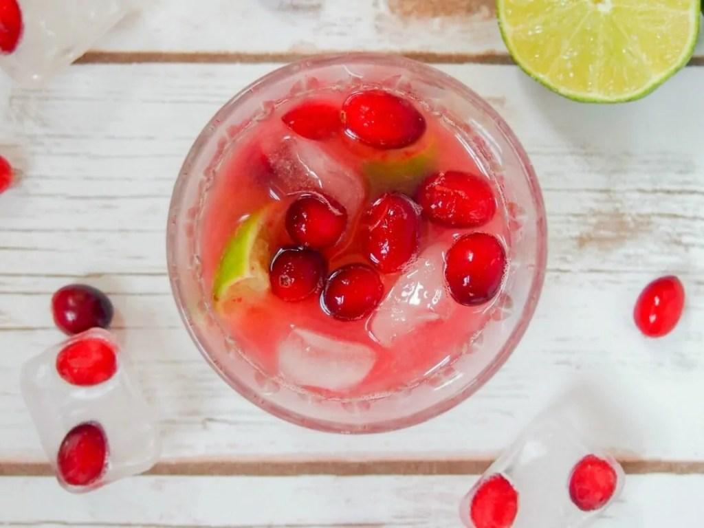 Cranberry caipirinha #CranberryWeek