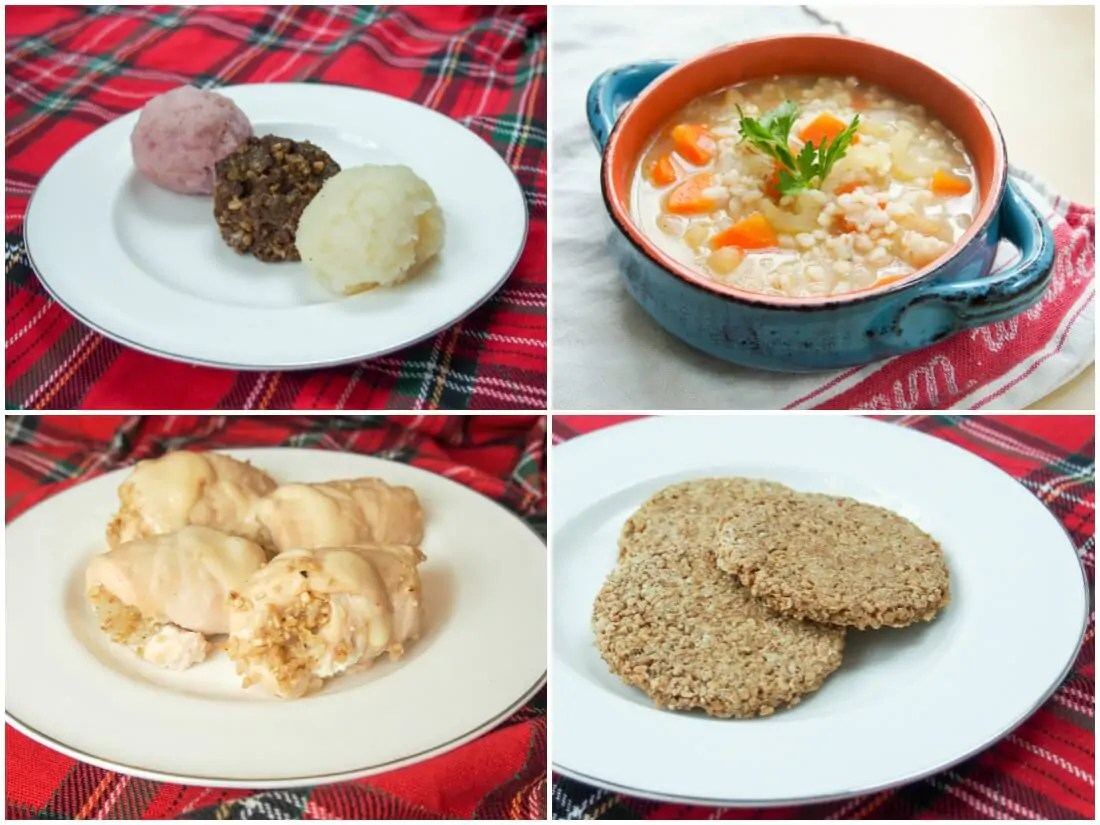 Scottish dishes - Cranachan + ideas for a Burns night celebration